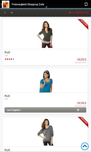 Shopping Zeile Preisvergleich