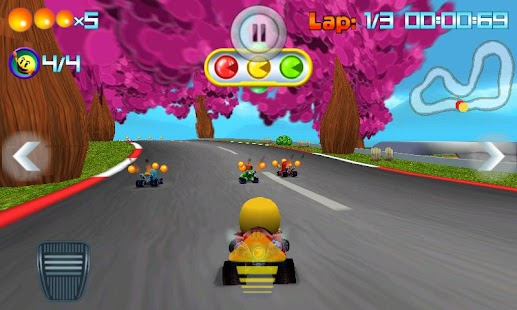 PAC-MAN Kart Rally by Namco - screenshot thumbnail