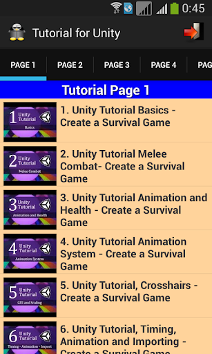 Tutorial for Unity