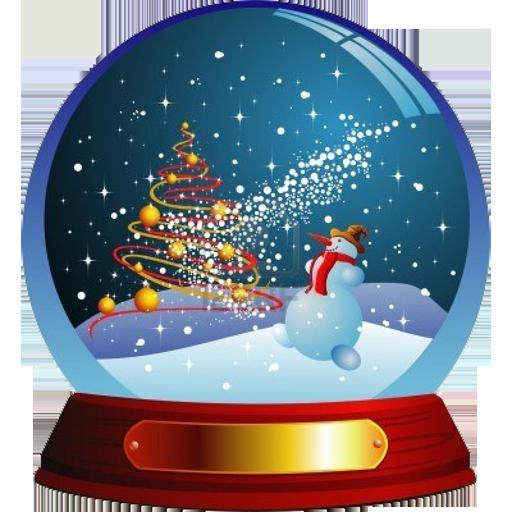 Christmas Snow Ball 個人化 LOGO-阿達玩APP