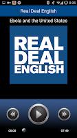 Screenshot of Real Deal English