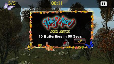 Butterflies Catch Craze 3D 1.0 screenshot 6194
