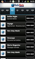 Screenshot of Radio Marte Stereo
