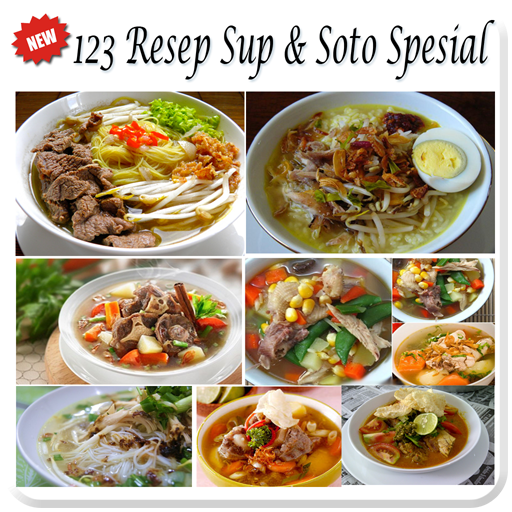 123 Resep Soto Sup Spesial