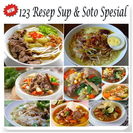 123 Resep Soto Sup
