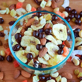 Homemade Tropical Trail Mix.