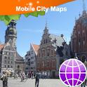 Riga Street Map logo