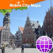 Riga Street Map