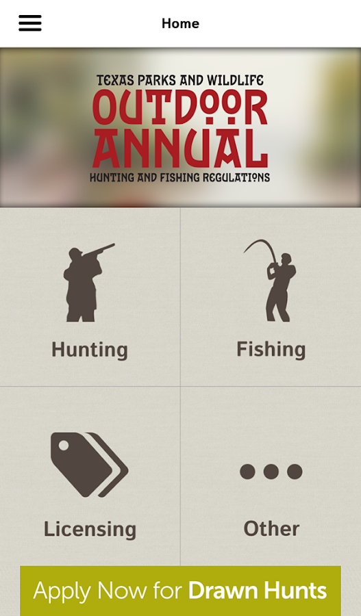 Texas Outdoor Annual - screenshot