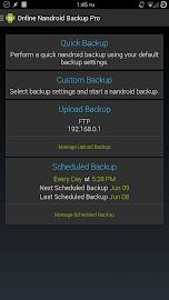 Online Nandroid Backup * ROOT Screenshot 1
