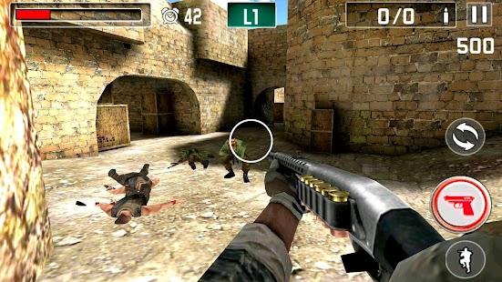 Silah ateş Savaş Ekran Görüntüsü