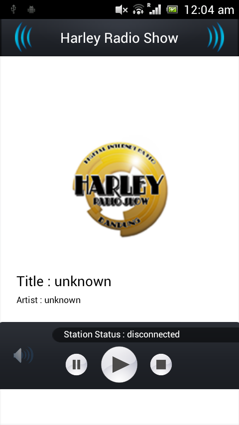 Harley Radio Show - screenshot