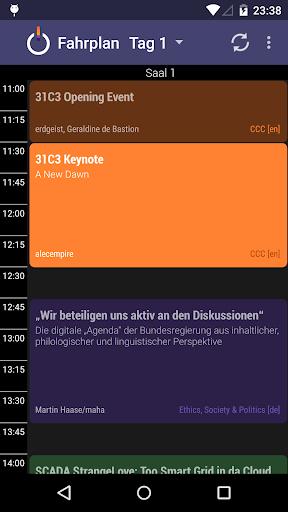 31C3 Schedule