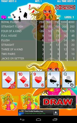 Bonus Poker Thunder Vegas Free