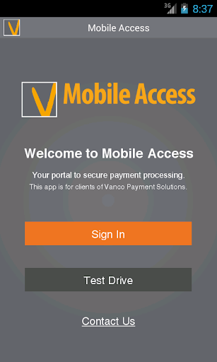 Vanco Payments Mobile Access