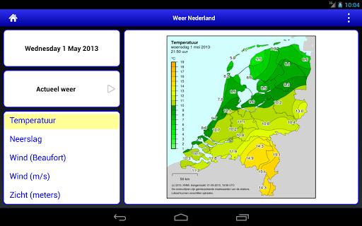 Weer Nederland HD