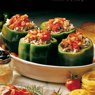 Stuffed Green Pepper.