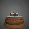 3D Snow Globe HD icon