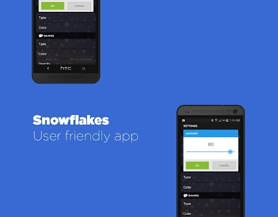 Snowflakes Live Wallpaper Free - screenshot thumbnail