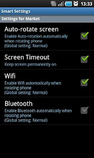 Smart Settings FREE - screenshot thumbnail