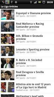 La Liga Explorer - screenshot thumbnail