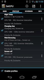 SetCPU for Root Users Screenshot