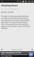 Screenshot of NBC26.com WGBA-TV Green Bay