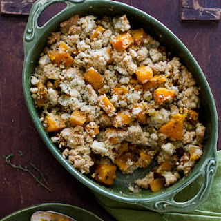 Butternut Squash Crumble Recipe