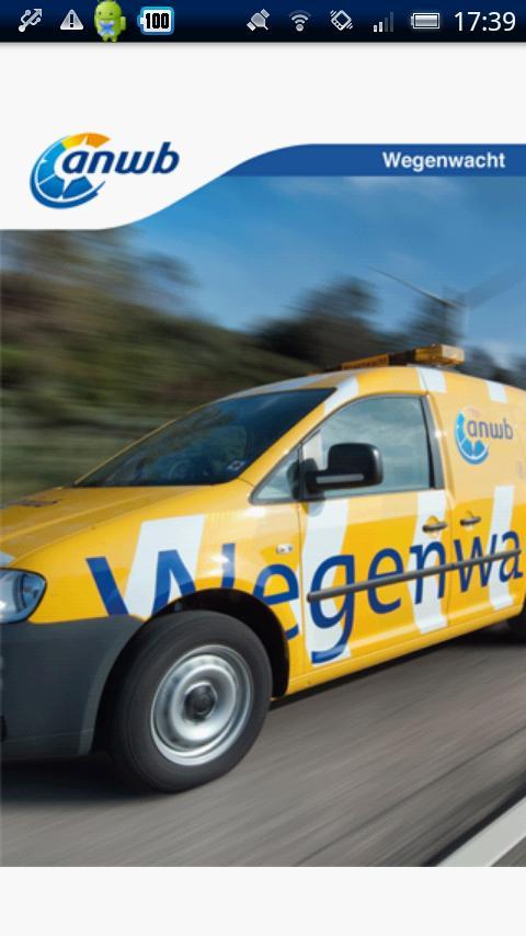 ANWB Wegenwacht - screenshot