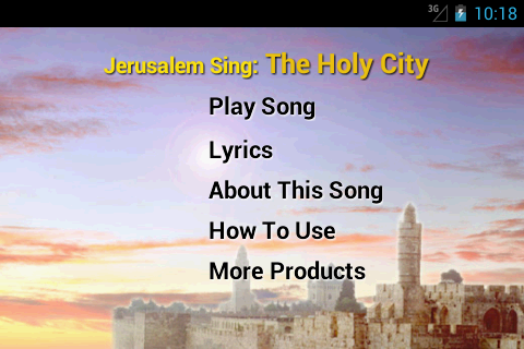 Jerusalem -The Holy City -Free