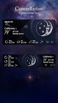 CONSTEL GO WEATHER FREE THEME
