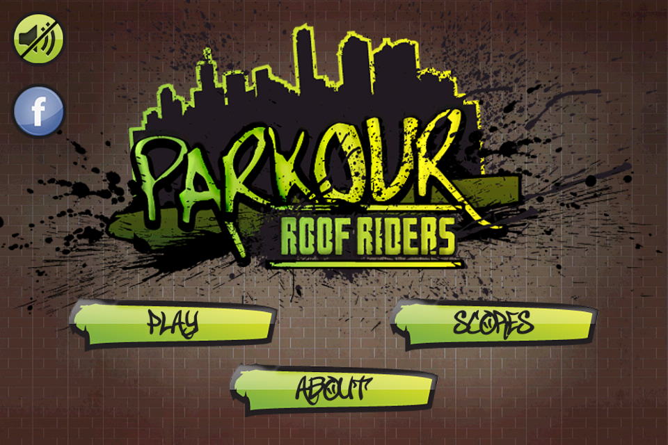 Parkour: Roof Riders Lite- screenshot