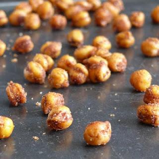 Crispy Cinnamon-Chili Chickpeas