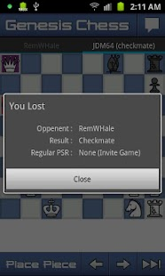 Genesis Chess - screenshot thumbnail