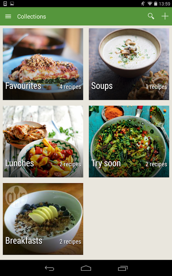 Whisk Recipes & Shopping List - screenshot
