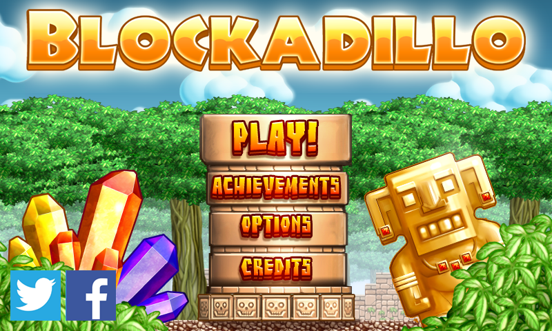 Blockadillo- screenshot