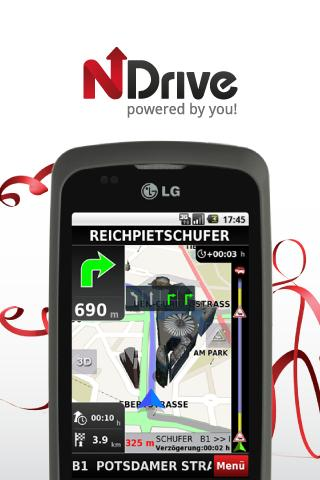 NDrive Western Europe - screenshot
