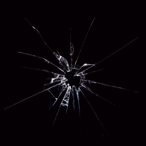 碎玻璃屏幕笑話 娛樂 LOGO-玩APPs