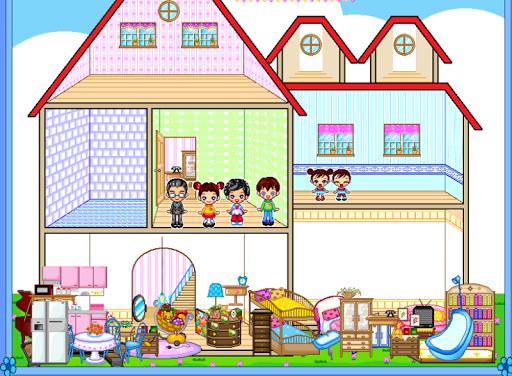 เกมส์แต่งบ้านตุ๊กตาแสนรัก