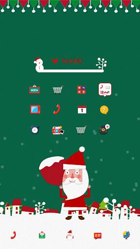 Mr. Santa dodol launcher theme