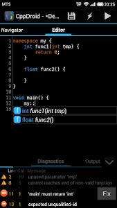 CppDroid - C/C++ IDE v2.2