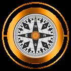指南针 icon