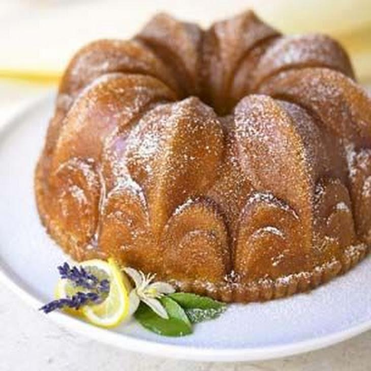 Lavender-Lemon Bundt Cake Recipe