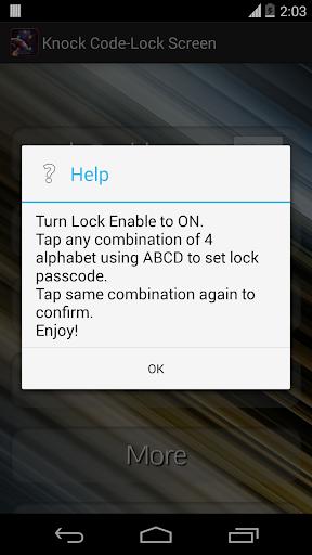 玩生產應用App|Tap Knock Lock - Lock Screen免費|APP試玩