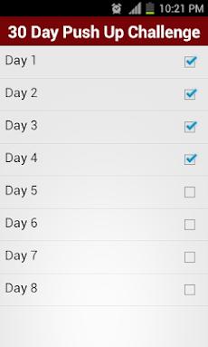 30 Day Push Up Challengeのおすすめ画像2