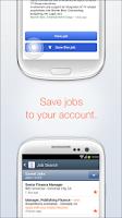 Screenshot of Job Search