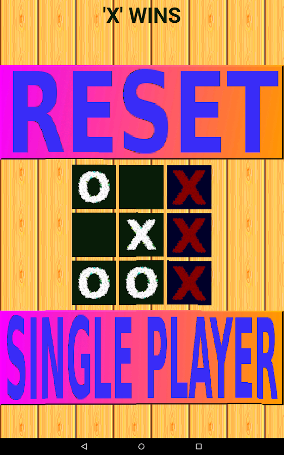 Impossible To Win-Tic Tac Toe- screenshot