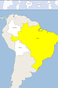 Game South America Map Puzzle APK for Windows Phone Android