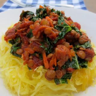 Chunky Lentil Bolognese (Vegan Marinara Sauce)