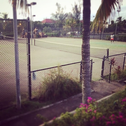 10865097_774188342653866_226682284_n - Tennis courts at Crow's Nest, Jolly Beach
